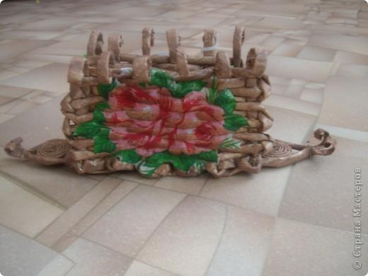 Карзинка с тюльпанами. фото 7
