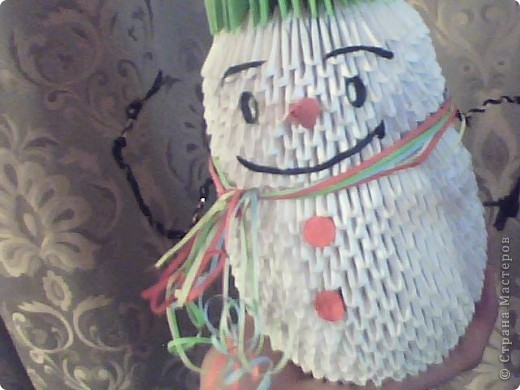 Снеговик из модулей фото 2