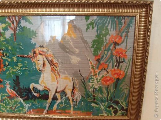 Вид спереди Размер  картины 125 см на 55 см.  фото 4