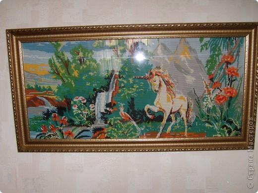 Вид спереди Размер  картины 125 см на 55 см.  фото 5