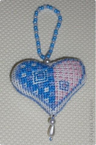 Сердечко розовое. Ширина сердечка 4,5 см.  фото 3