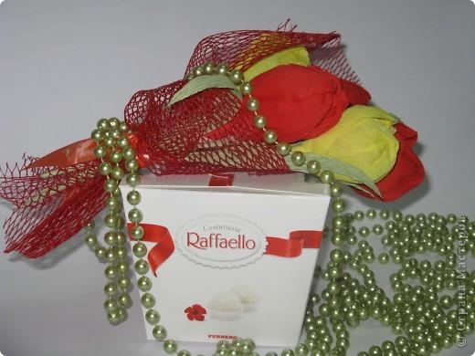 Сладкие букетики в подарок  к Празднику. фото 10