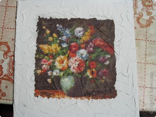 Всем привет! Хочу поделиться, как сделать имитацию фрески. Это мой первый мастер класс, поэтому не судите строго. Может кому-то это и пригодится)))) фото 4