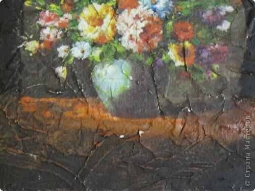 Всем привет! Хочу поделиться, как сделать имитацию фрески. Это мой первый мастер класс, поэтому не судите строго. Может кому-то это и пригодится)))) фото 8