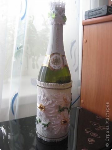 К Татьяниному дню оформили бутылку для крёстной сына. фото 3