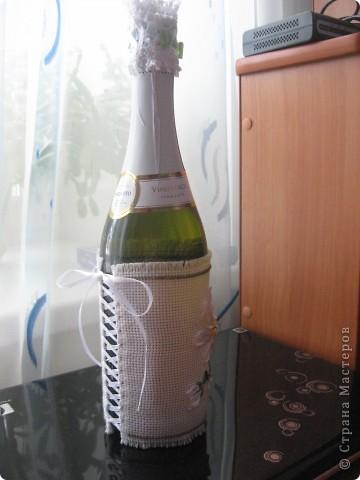 К Татьяниному дню оформили бутылку для крёстной сына. фото 4