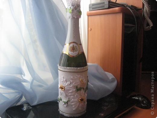 К Татьяниному дню оформили бутылку для крёстной сына. фото 8