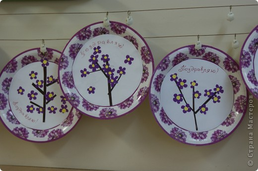 тарелочки для мамочки фото 2