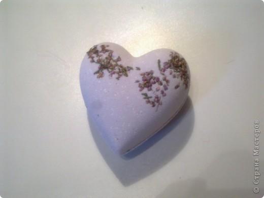 бомбочка с цветками вереска фото 1