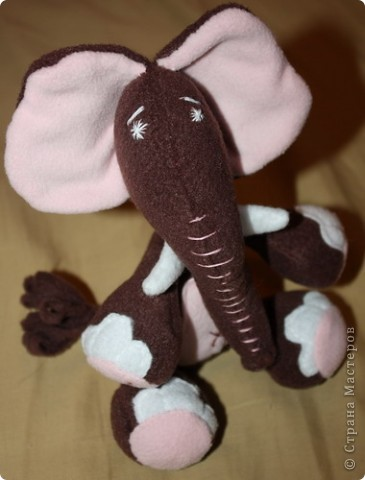 Слонопотамчик. Сшила в подарок, но очень жалко отдавать. фото 1