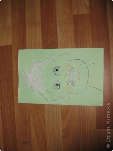 Это открытка с сюрпризом - с пружинкой-спиралькой внутри.Идея из журнала /Дошкольное воспитание/ 80гг.Надеюсь ,что пригодится для Вашего творчества! Вот так она может выглядеть снаружи... фото 7