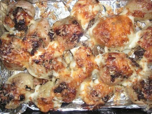 запеченный картофель с мясом и сыром фото 2