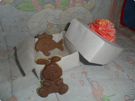 Мыло и коробочка-упаковка для него фото 2