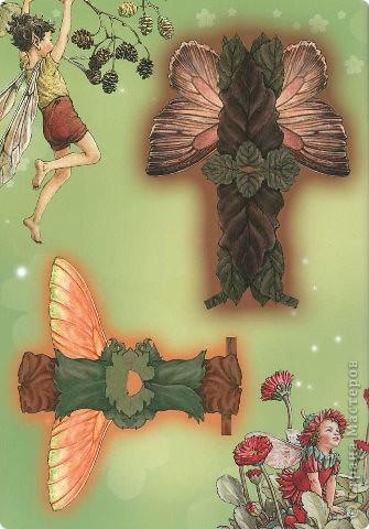 Бумажные куколки феи фото 14