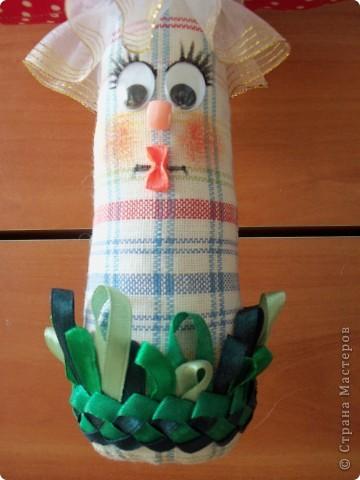 Первая игрушка сделана руками. фото 8