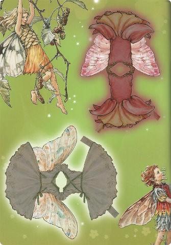 Бумажные куколки феи фото 10