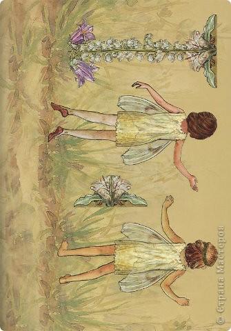 Бумажные куколки феи фото 7