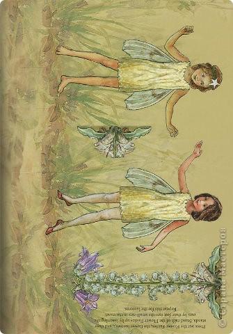 Бумажные куколки феи фото 5