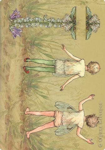 Бумажные куколки феи фото 8