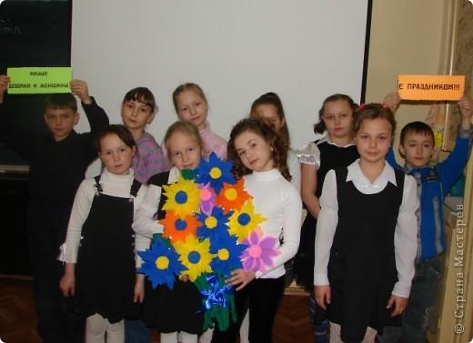 Наши цветы в подарок милым девочкам и женщинам. А идейку взяли здесь http://stranamasterov.ru/node/55477?c=favorite  фото 2