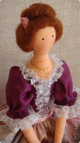 При шитье этой  Красотки воспользовалась советами Мастерицы nkale - Елены из Челябинска. Получился подарок доченьке к празднику. фото 2