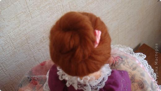 При шитье этой  Красотки воспользовалась советами Мастерицы nkale - Елены из Челябинска. Получился подарок доченьке к празднику. фото 3