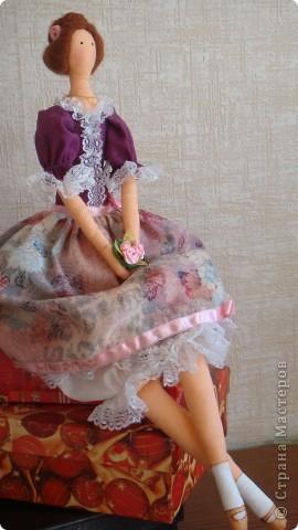 При шитье этой  Красотки воспользовалась советами Мастерицы nkale - Елены из Челябинска. Получился подарок доченьке к празднику. фото 1