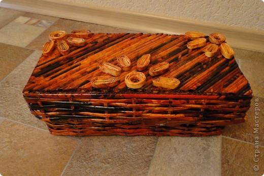 Коробочки-плетеночки фото 2