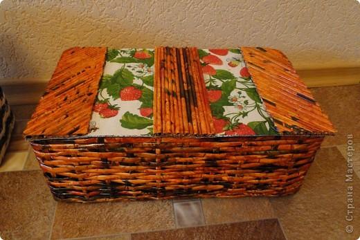 Коробочки-плетеночки фото 4