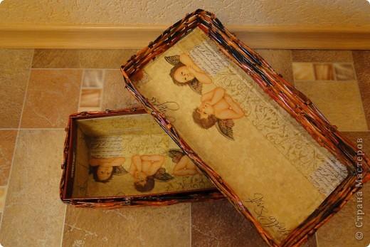 Коробочки-плетеночки фото 3