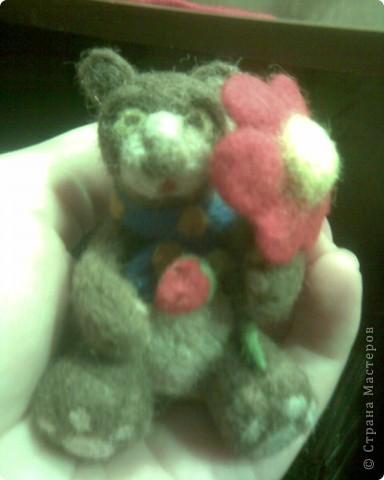 Медвежонок Блинчик)) Самый первый, немножко комом, отсюда имя:) фото 2