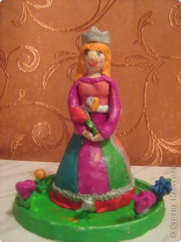 Пластилиновая принцесса.