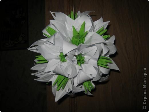а вот и моя белая лилия