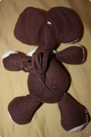 Слонопотамчик. Сшила в подарок, но очень жалко отдавать. фото 3