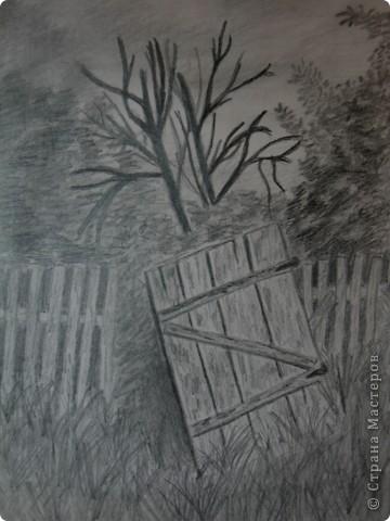 первые рисунки карандашом фото 1