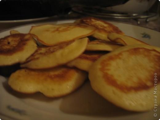 Бисквитные оладьи фото 1