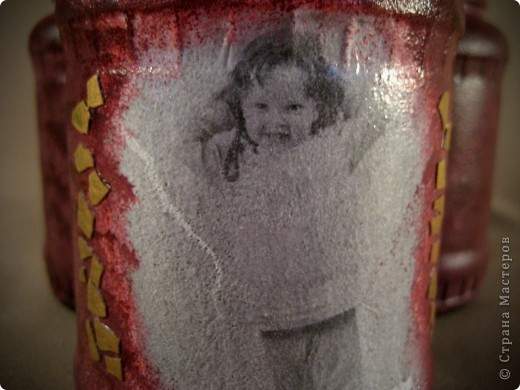 Баночки в подарок сестре моего мужа. У нее прекрасная четырехлетняя златовласка. Мне показалось, что такие баночки всегда будут радовать хозяйку на кухне. фото 3