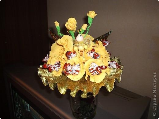 конфетные букеты фото 5