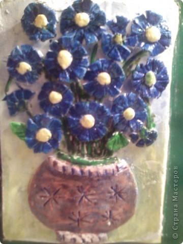 Цветы из пасты для лепки фото 1