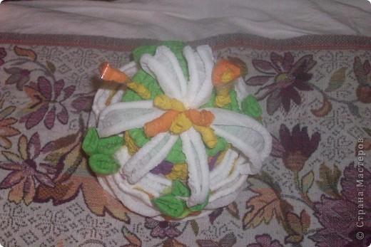 это мой тортик уже дедушке на юбилей моя первая работа в этой технике я его сделала за вечер и утром доделала до обеда фото 2