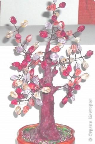 Это мое первое дерево, назвали ЗОЛОТОЕ, сделано из пайеток фото 4