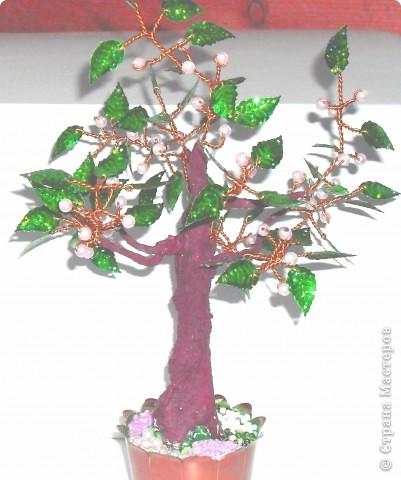 Это мое первое дерево, назвали ЗОЛОТОЕ, сделано из пайеток фото 6