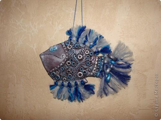 Моя идея. Рыба-джинса. Дырчатая))))) фото 6