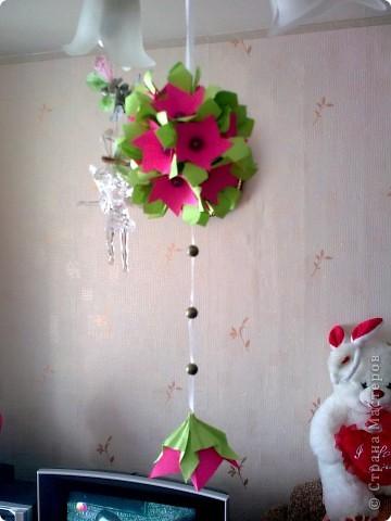 Первый раз делала розы, очень понравилось! Такой от меня был подарок маме на 8 Марта! фото 6