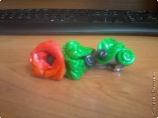 """Решила все же попробовать лепку из пластики. Купила пластику """"Цветик"""" -очень жесткая, тяжело разминается, при запекании после 5 минут начинает менять цвет, хотя может быть я сама что то неправильно делаю, незнаю. фото 1"""