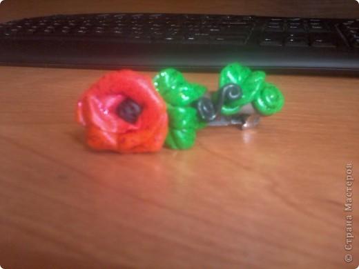 """Решила все же попробовать лепку из пластики. Купила пластику """"Цветик"""" -очень жесткая, тяжело разминается, при запекании после 5 минут начинает менять цвет, хотя может быть я сама что то неправильно делаю, незнаю. фото 3"""