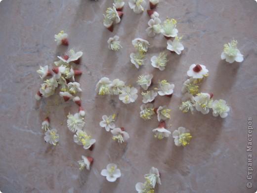 Вот такие цветочки слепила из остатков ХФ. фото 3