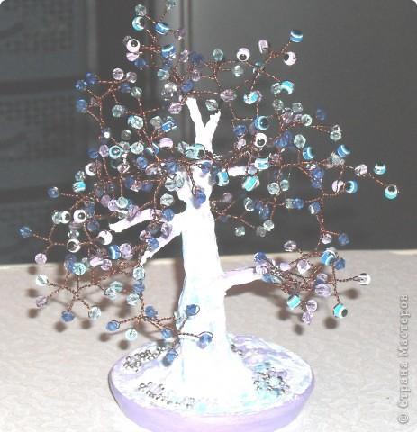 Это мое первое дерево, назвали ЗОЛОТОЕ, сделано из пайеток фото 3