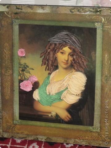 Картина на стену в приблежённом виде фото 2