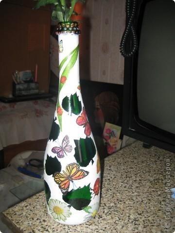 А бутылки-то  оказываются, зелёные, как берёзовые листочки... фото 10